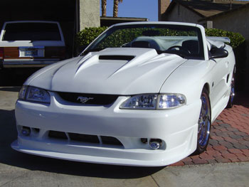 94-98 Mustang COBRA R - 4PC - Body kit (Front + Rear + Sides) - Urethane