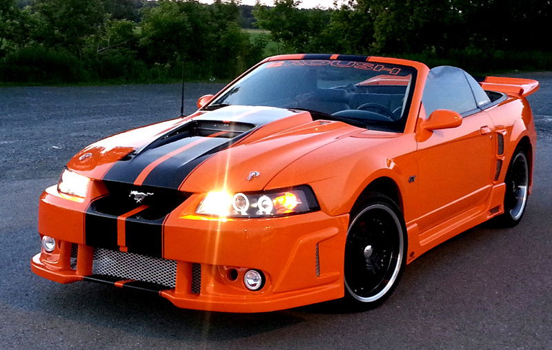 99-04 Mustang SPIDER X9 COBRA - 4PC - Body kit (Front ...